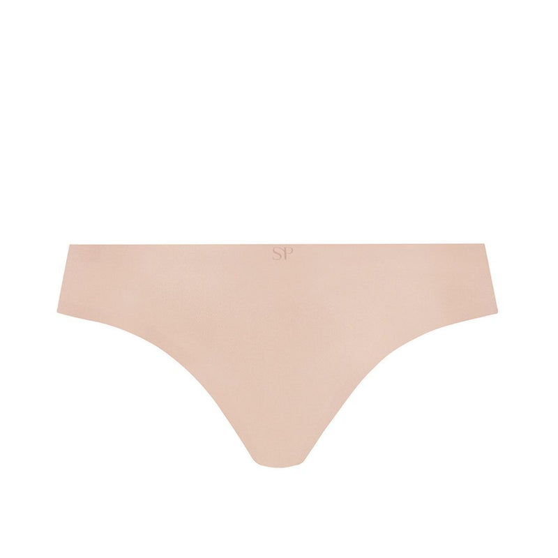 Simone Perele, Invisi'bulle, brief, rio briefs, seamless, no vpl, smooth, in nude, pea rose, Caroline Randell, Caroline Randell.