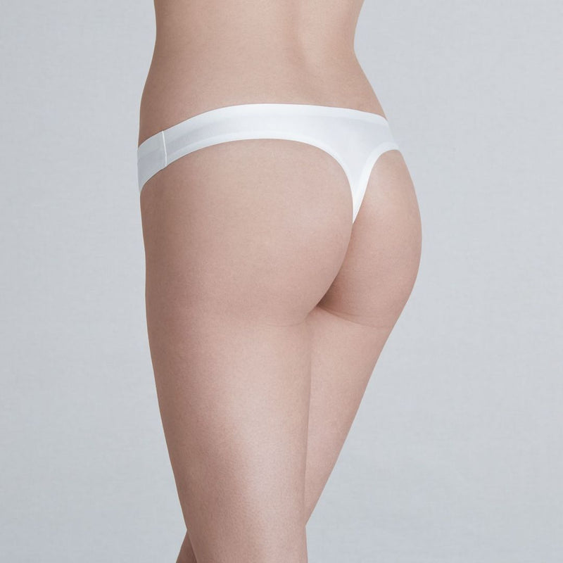 Simone Perele, Invisibulles, smooth, seamless, thong, no vpl, ivory, natural, Caroline Randell.