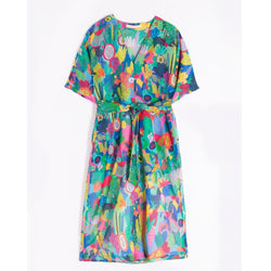 Vilagallo, Sabrina, summer, dress, printed, multicoloured, Caroline Randell.