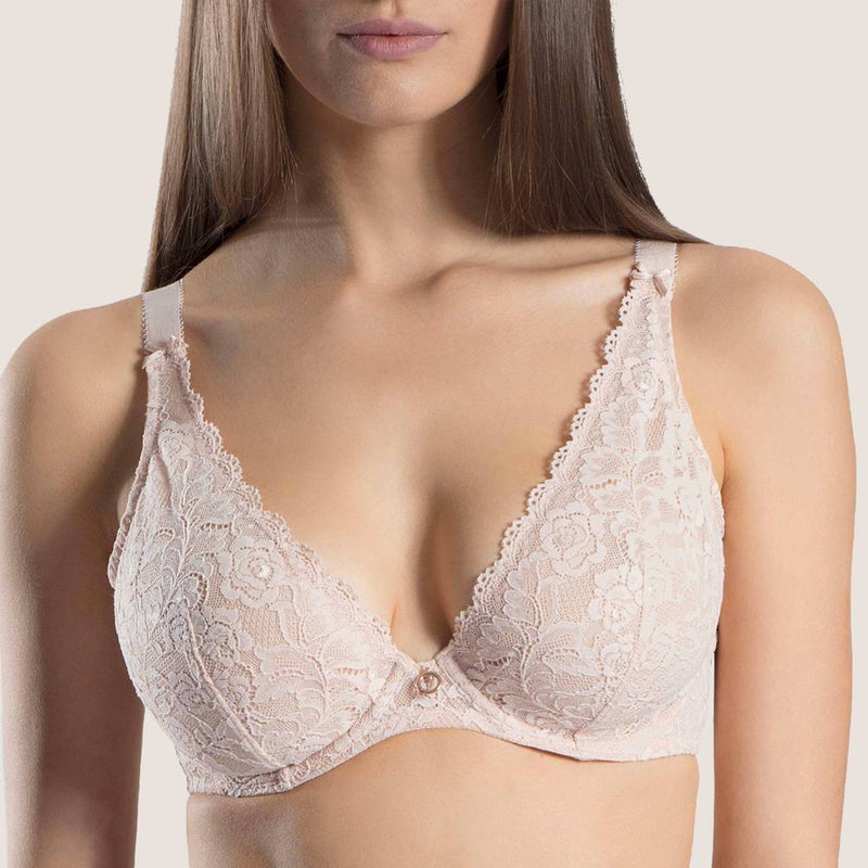 Rosessence Comfort Plunging Triangle Bra