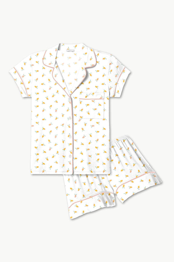Gisele Short PJ Set in Mango Print