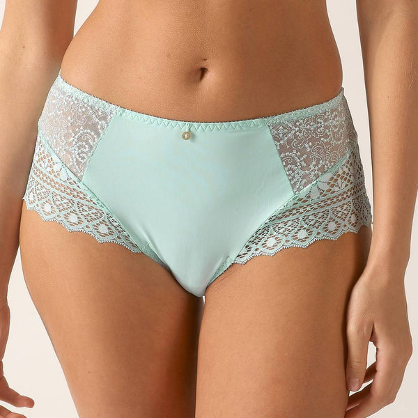 Limited Edition Cassiopee Bleu Tendre Deep Brief