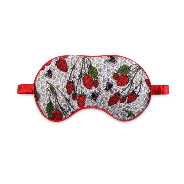 Strawberry garden eye mask