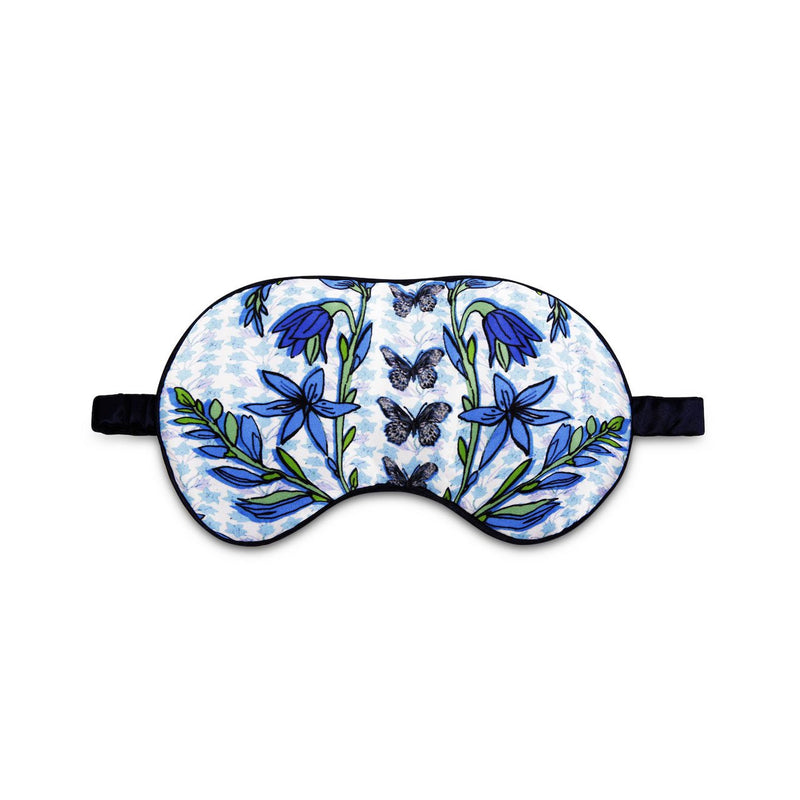 Folk butterfly eye mask