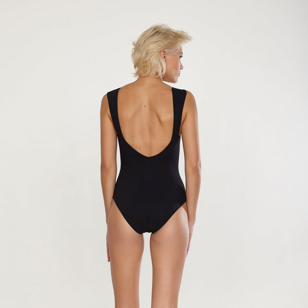 Jetset wide strap swimsuit