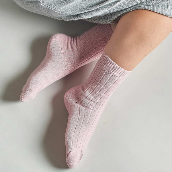 Pantherella, Tabitha, Cashmere Socks, W750, caroline randell, winter white, natural, rose pink, grey,