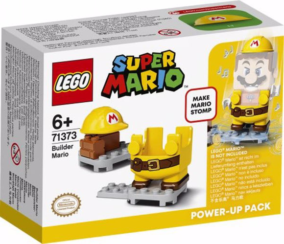 LEGO SUPER MARIO 71373 MARIO COSTRUTTORE POWER UP PACK