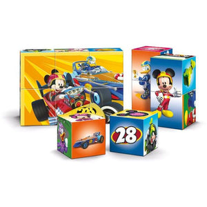 PUZZLE 12 CUBI MULTI PLAY MICKEY ROADSTER