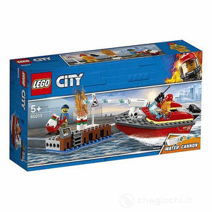 LEGO CITY 60213 INCENDIO AL PORTO