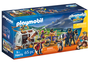PLAYMOBIL: THE MOVIE 70073 CHARLIE CON CARRO