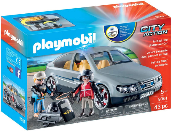 AGENTI IN BORGHESE PLAYMOBIL 9361