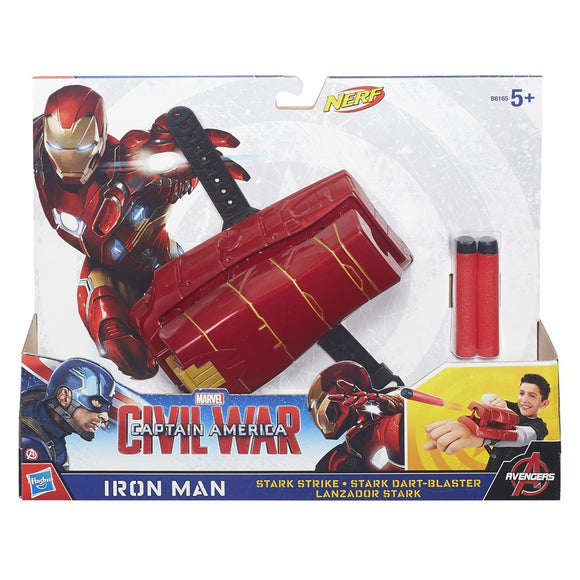 LANCIATORE CIVIL WAR MARVEL'S FALCON E IRON MAN