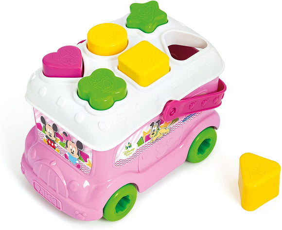 BABY MINNIE SHAPE SORTER BUS INFILAFORME
