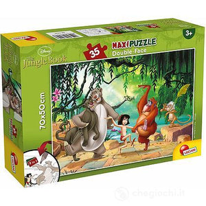 PUZZLE DOUBLE FACE SUPERMAXI 35 PZ THE JUNGLE BOOK