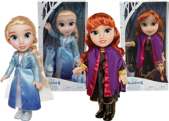 FROZEN 2 TOODLER DOLL TRAVEL