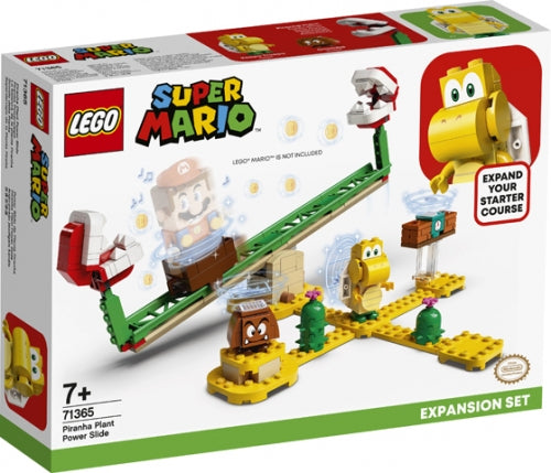 LEGO SUPER MARIO 71365 SCIVOLO DELL PIANTA PIRANHA PACK DI ESP.