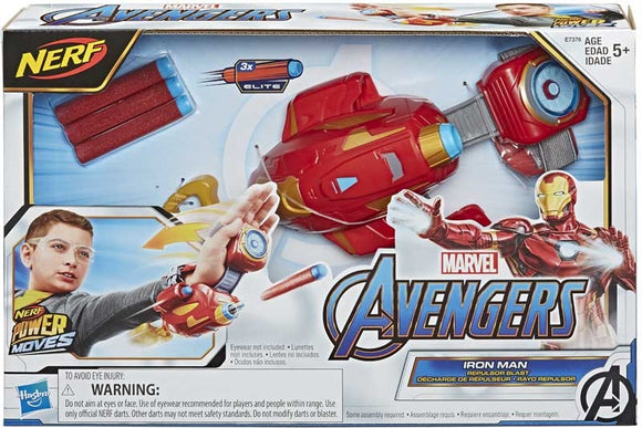 AVENGERS IRON MAN NERF POWER MOVES
