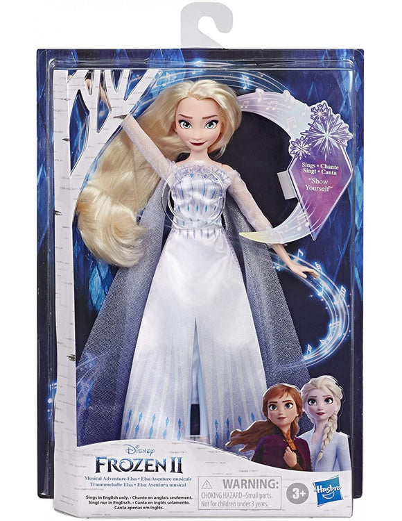 FROZEN 2 SINGING DOLL AST