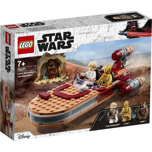 LEGO STAR WARS 75271 LANDSPEEDER DI LUKE SKYWALKER