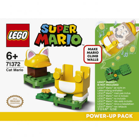 LEGO SUPER MARIO 71372 MARIO GATTO POWER UP PACK
