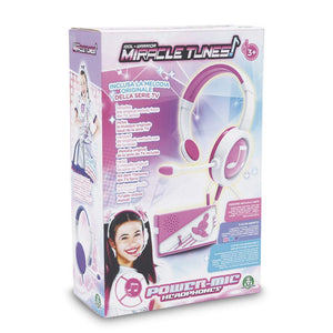 MIRACLE TUNES POWER MICROFONO E CUFFIE
