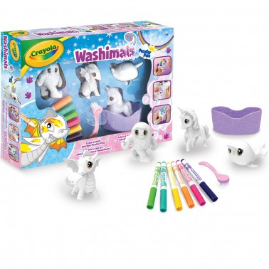 WASHIMALS PECULIAR PETS ACTIVITY SET