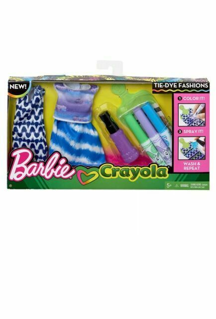 BARBIE VESTITINI CRAYOLA