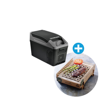9.5L: The Commuter - Thermometric Cooler/Warmer & FREE CASUS GRILL myCOOLMAN | Portable Fridges & Freezers