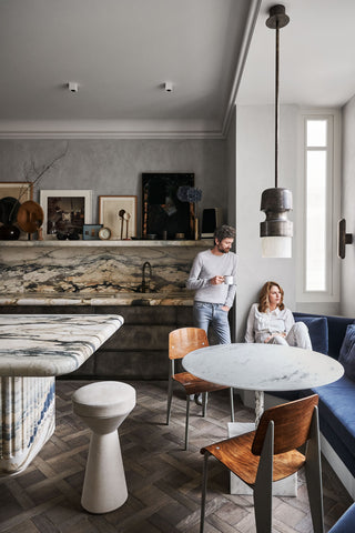Just Adele | Marble | Joseph Dirant Apartment Paris French Architecture |