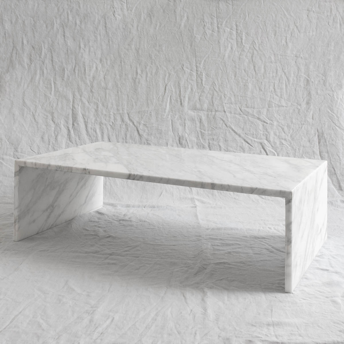 Just Adele | Calacatta coffee table | Marble & stone | Furniture design | Custom  | Melbourne made | Bespoke | Melbourne coffee table | Occasional table | Melbourne made | local design | marble coffee table | carrara coffee table | white stone coffee table