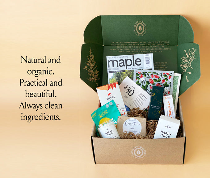Clean-ingredients subscription box