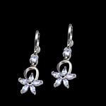 Valentina Platinum Earrings