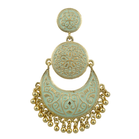 Bella Gold Plated Earrings