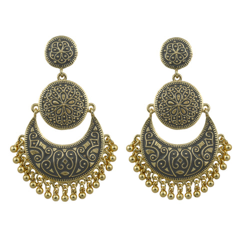 Claire Gold Plated Earrings