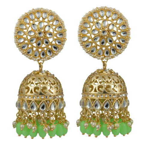 Ivy Gold Plated Earrings