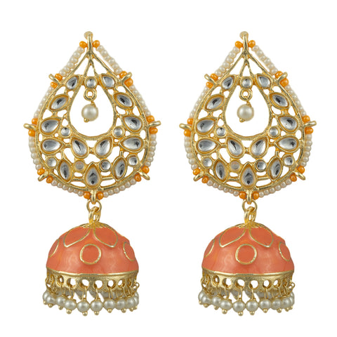Gianna Gold Plated Earrings