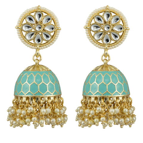 Ariel Gold Plated Earrings