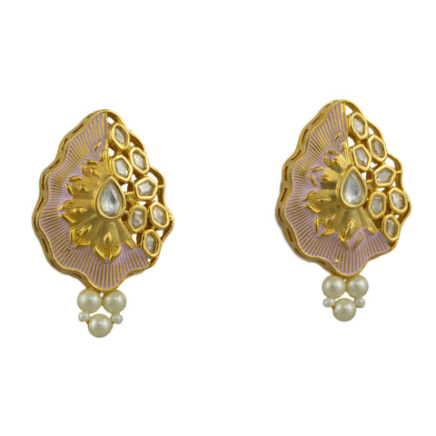 Ariana Gold Plated Earrings