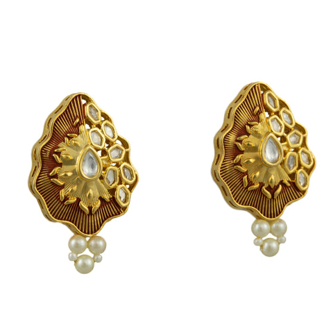 Cora Gold Plated Earrings