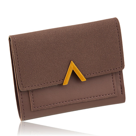European Plum Suede Wallet