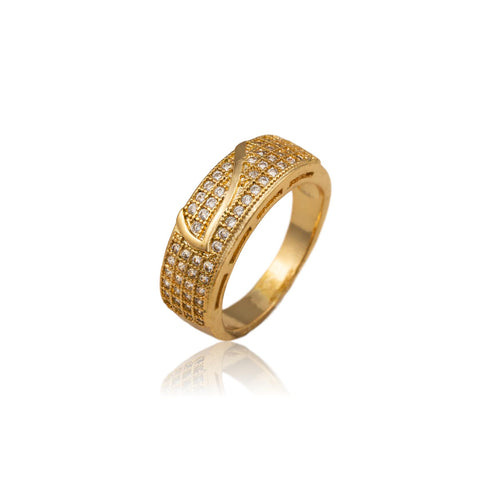 Adaline Gold Plated Ring