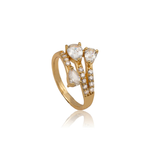 Nicole Gold Plated Ring