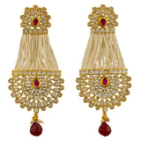 Kundan Chain Earrings