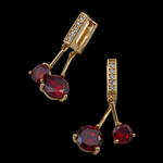 Genesis Zircon Earrings