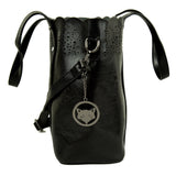 Coal Black Bohemian Bag