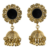 Carbonated Gold Mirror Earrings