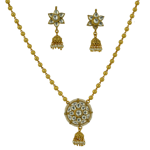 Kundan necklace & Earing Set