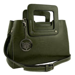 Olive Minimalist Leather Bag