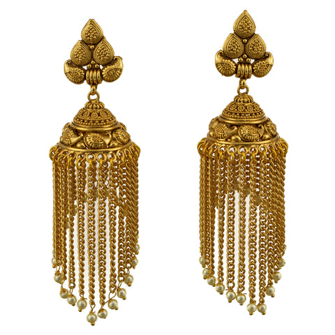 Elephant Chain Royal Earrings