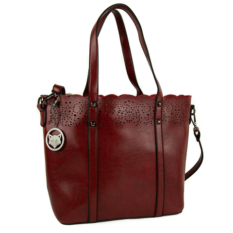 Vedrik Wine Red bohemian Bag